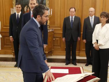 Màxim Huerta dimite como ministro de Cultura