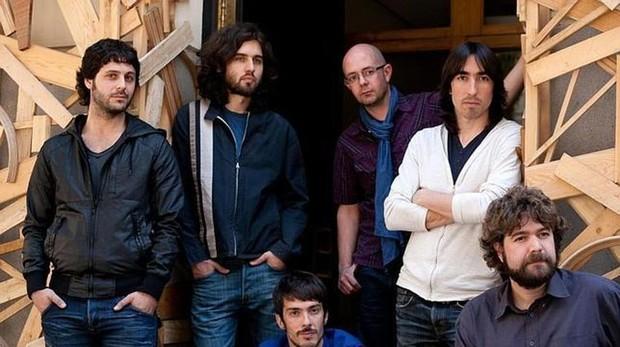 El grupo de música Vetusta Morla durante su gira