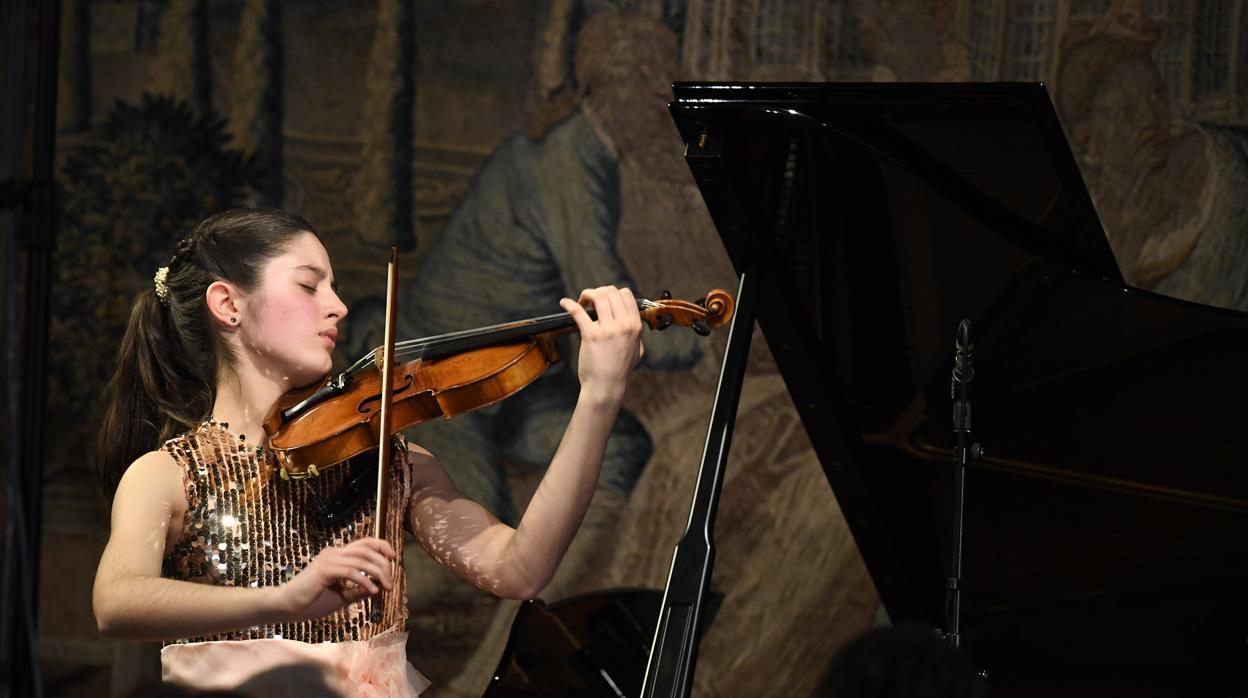 Una violinista española de 15 años debuta como solista en la Musikverein de Viena
