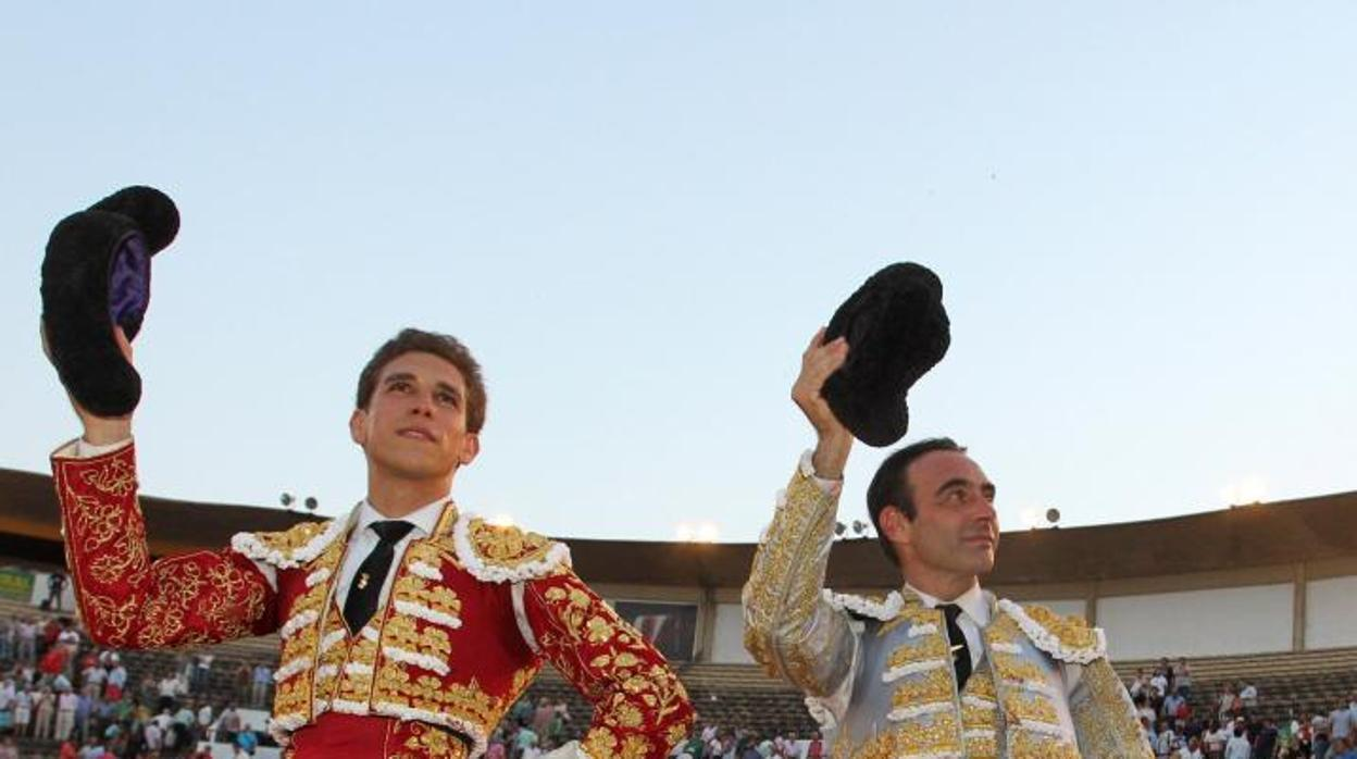 Ponce y Ginés, a hombros en Badajoz