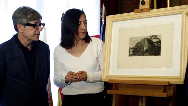 La Diputación Provincial de Zaragoza ha adquirido un grabado original e inedito de Francisco de Goya