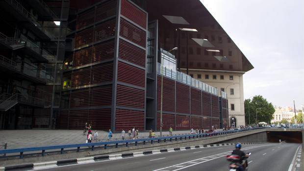 Fachada del Museo Reina Sofía