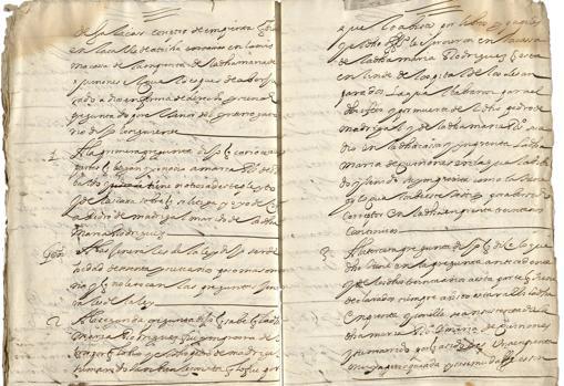 Los papeles del pleito que han permitido el descubrimiento
