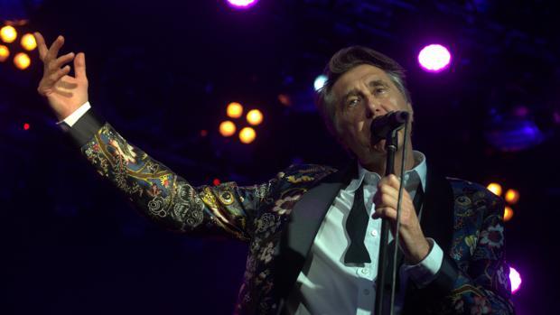 Bryan Ferry actúa este fin de semana en Cap Roig