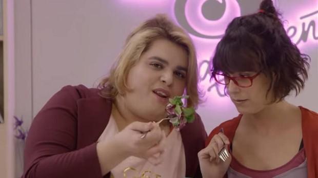 Brays Efe y Belén Cuesta en «Paquita Salas»