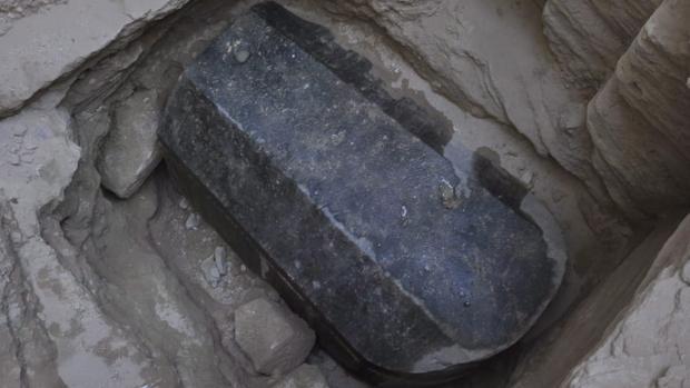 El sarcófago fue encontrado en la ciudad de Alejandría