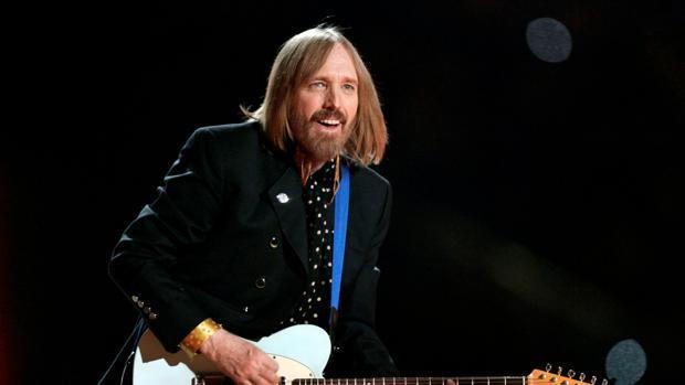 El rockero Tom Petty durante una actuación