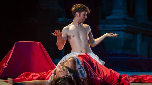Raúl Arévalo, en una escena de «Nerón»