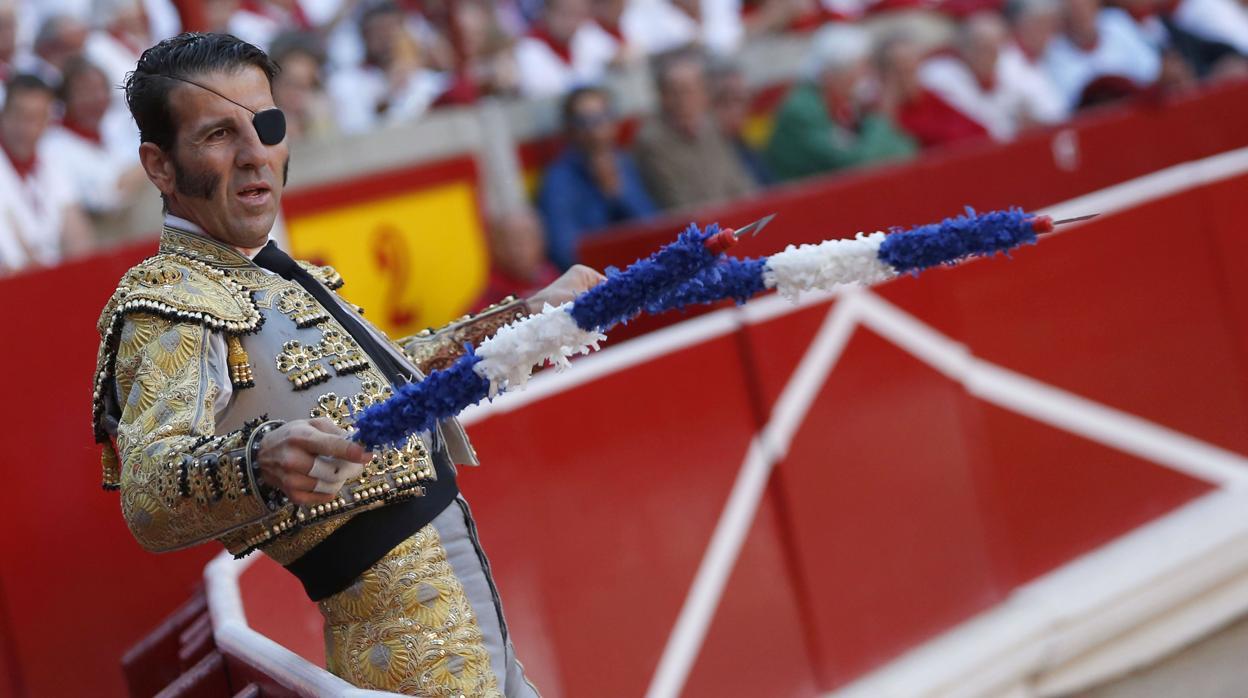 Directo: Juan José Padilla se despide de San Fermín con el toro «Jugoso»