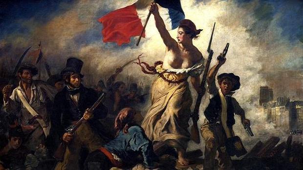 «La libertad guiando al pueblo», de Eugène Delacroix