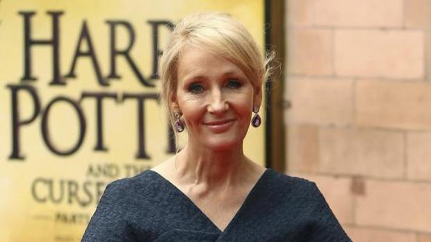 La escritora J.K. Rowling en una gala en 2016