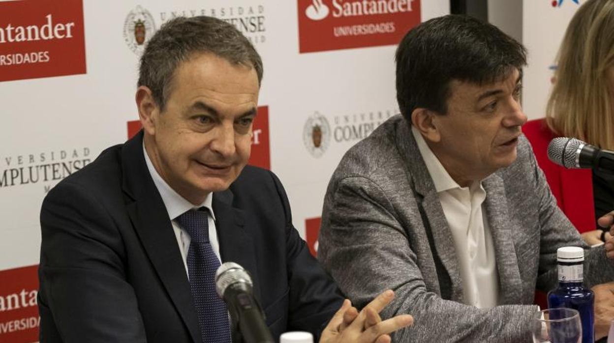 Zapatero refuta a Marx: «La Historia de la humanidad es la de la explotación de la mujer por el hombre»