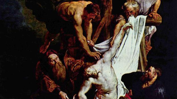 El «Descendimiento en la cruz», de Rubens