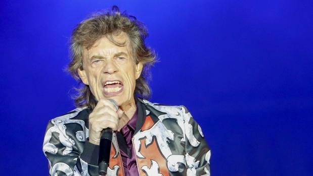 Mick Jagger, durante un concierto de los Rolling Stones en junio