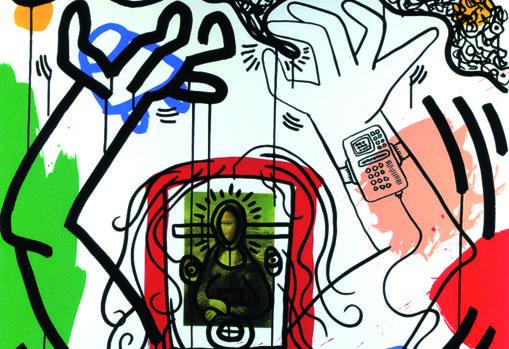 Obra de Keith Haring