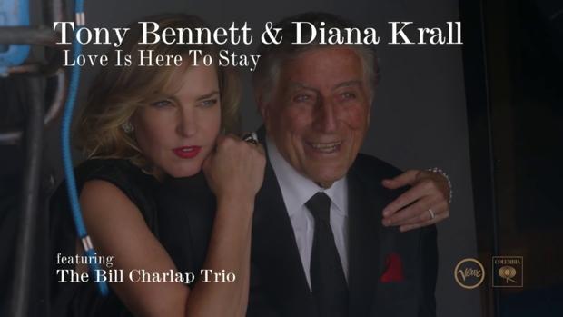 Resultado de imagen de Tony Bennett «Love is here to stay» krall