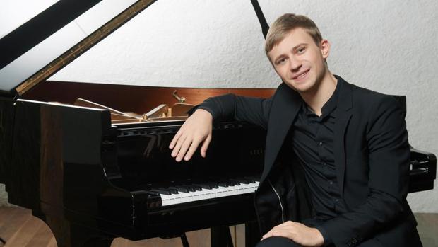 El ganador del Concurso de Piano, el ucraniano Dmytro Choni