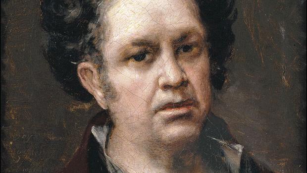 «Autorretrato» de Francisco Goya