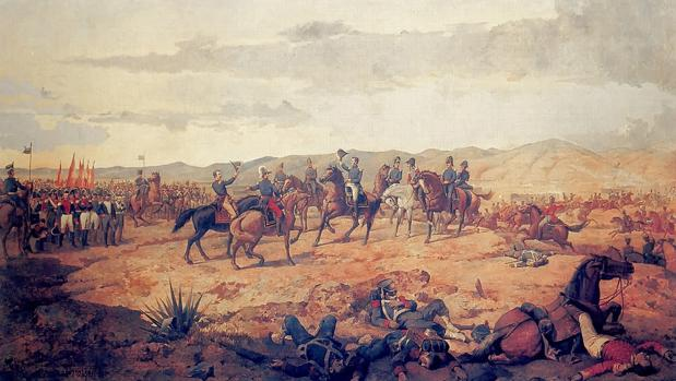 """Ã""""leo de la Batalla de Ayacucho en 1824"""