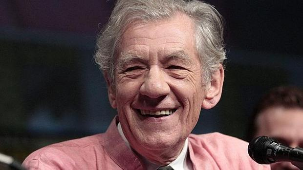 El actor Ian McKellen