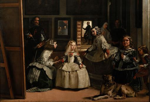 «Las Meninas» de Velázquez. Detalle