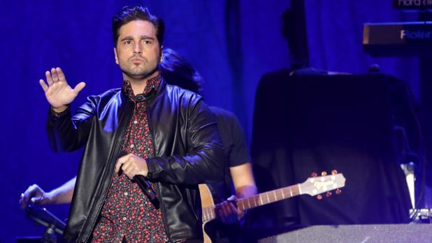 David Bustamante, apedreado durante su concierto en Elche