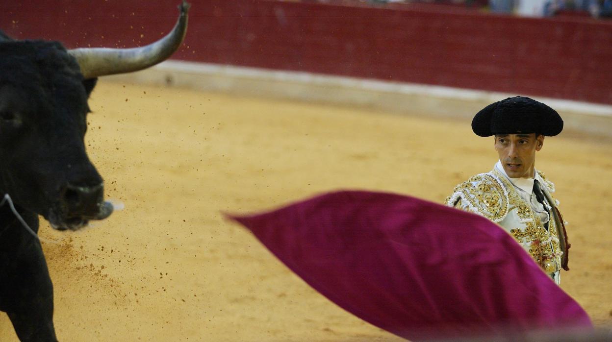Cornada de tres trayectorias en la región perianal a Serranito en Huesca