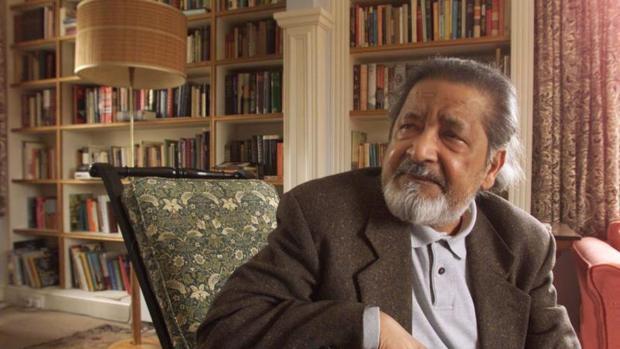 El escritor V. S. Naipaul