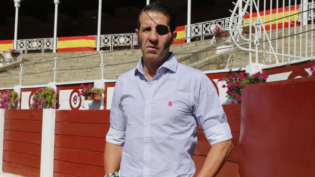 Juan José padilla, en la plaza de toros del Bibio