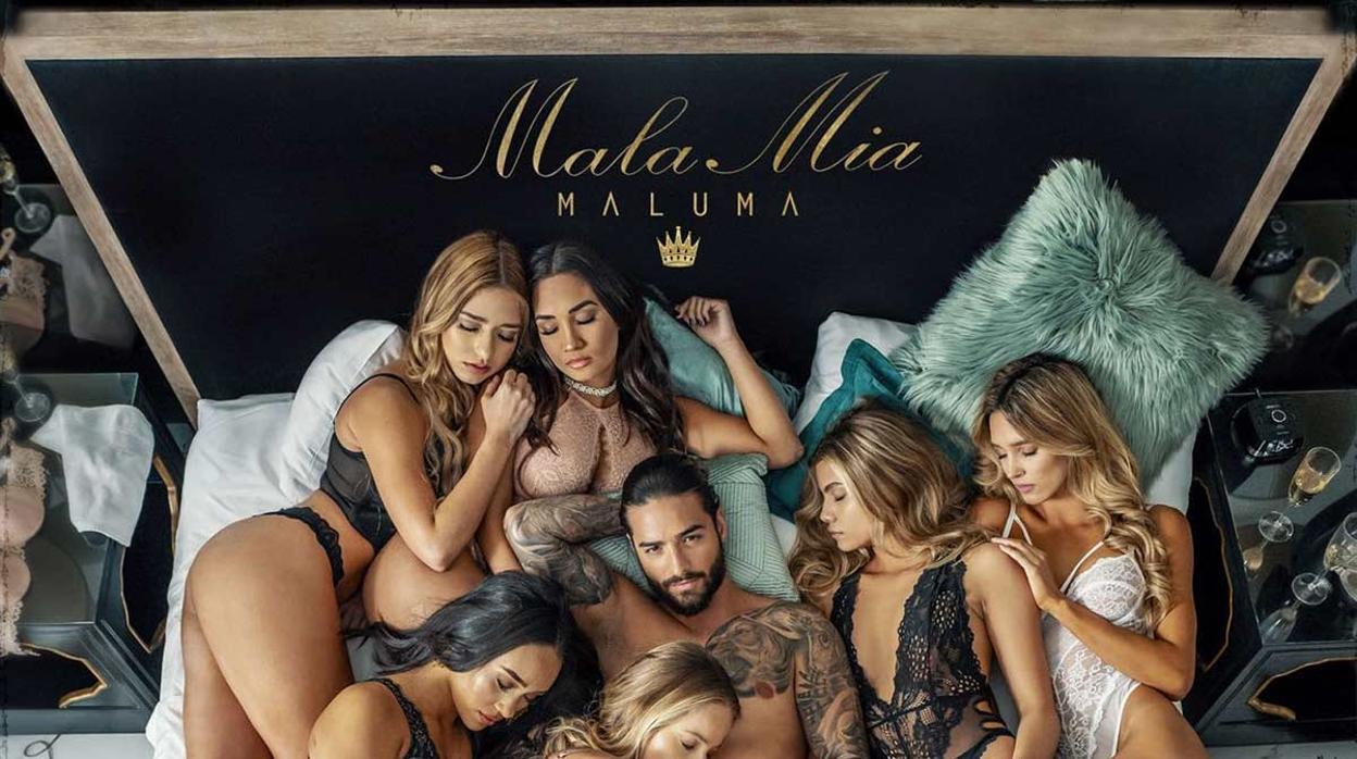 Los errores de photoshop del polémico single de Maluma se hacen virales
