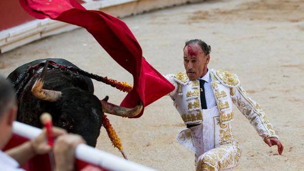 Pepín Liria, en su vuelta a Pamplona