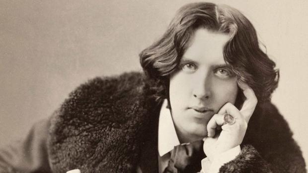 Oscar Wilde, fotografiado en Nueva York en 1882