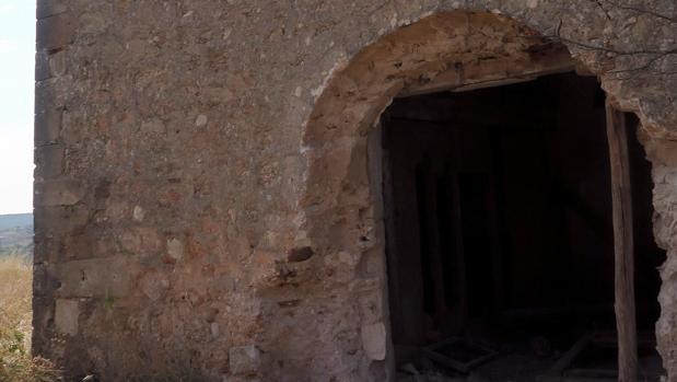 La ermita de La Mercadera, sin el pórtico