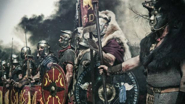 Representación de una legión romana