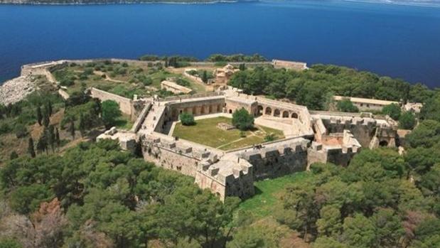 La fortaleza llamada Neokastro en la que se encuentra el museo