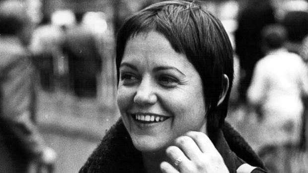 Elisa Serna a mediados de los años setenta