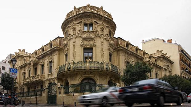 La sede de la SGAE en Madrid
