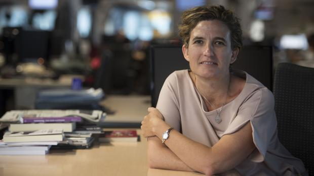 La periodista Mónica Arrizabalaga, autora de «España: la historia imaginada»