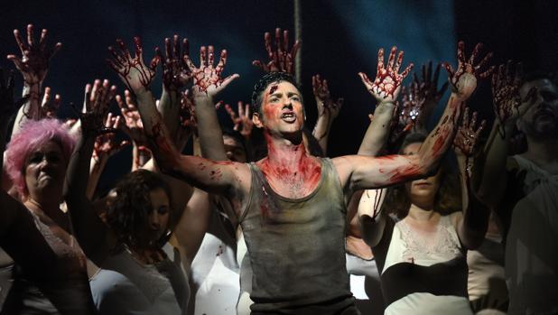 Una imagen de la ópera «Fuenteovejuna»