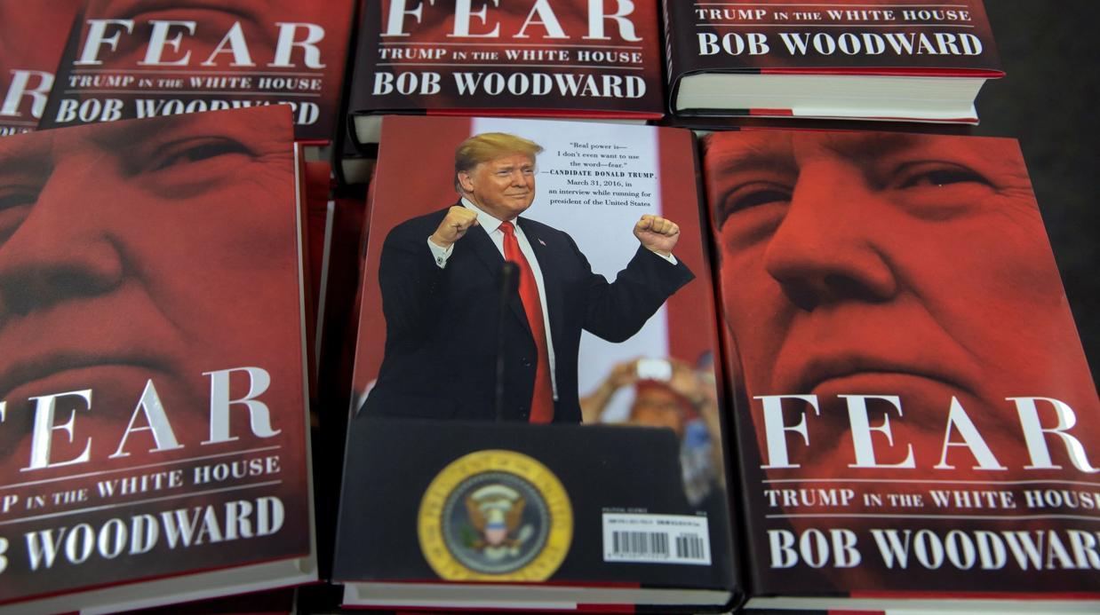 El libro de Woodward contra Trump vende 750.000 ejemplares en su primer día