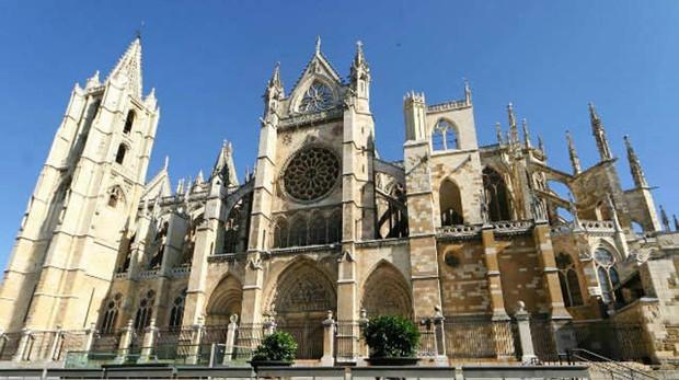 La catedral de León, uno de los momumentos que más ha sobrecogido a García de Cortázar