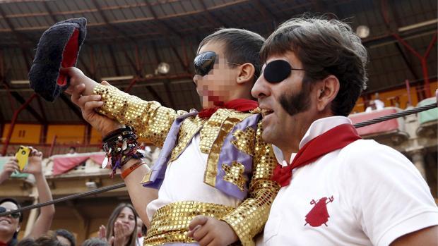 Foto de archivo de un evento didáctico en la plaza de toros de Pamplona al que acudieron en 2013 miles de niños