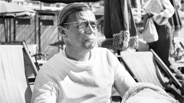 Sartre en el Festival de Cannes (1947)