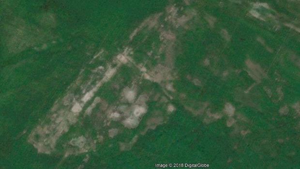 Imagen del yacimiento tomada con Google Maps