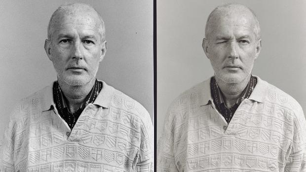 Dos imágenes de la serie «La luz de los ojos» (1986)