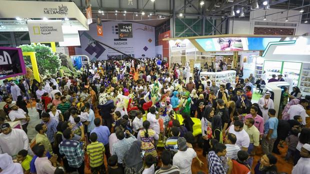 Una imagen de Feria Internacional del Libro de Sharjah