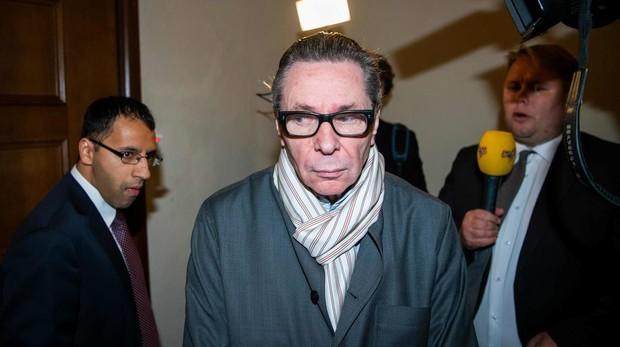 Jean-Claude Arnault a su llegada a los juzgados de Estocolmo
