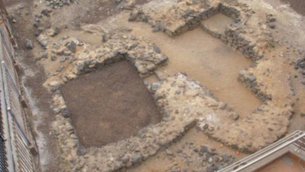 Vista de este conjunto arqueológico que hay sufrido vandalismo