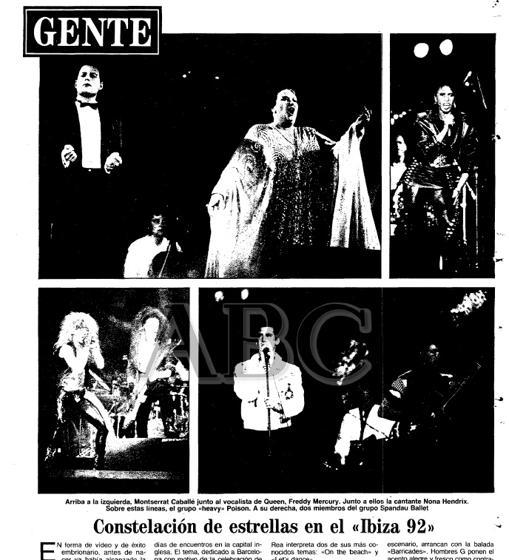 Montserrat Caballe Y Freddie Mercury La Cancion Que Hizo