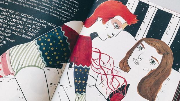 María Hesse, la mujer que ilustró a Bowie y Frida Kahlo, llega al Museo ABC